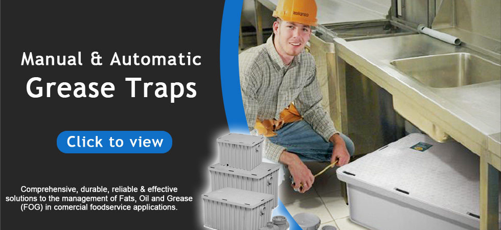 Drain-Net-banner-grease-traps Drain-Net Restaurant Plumbing Supplies, Grease Traps and Drain Strainers