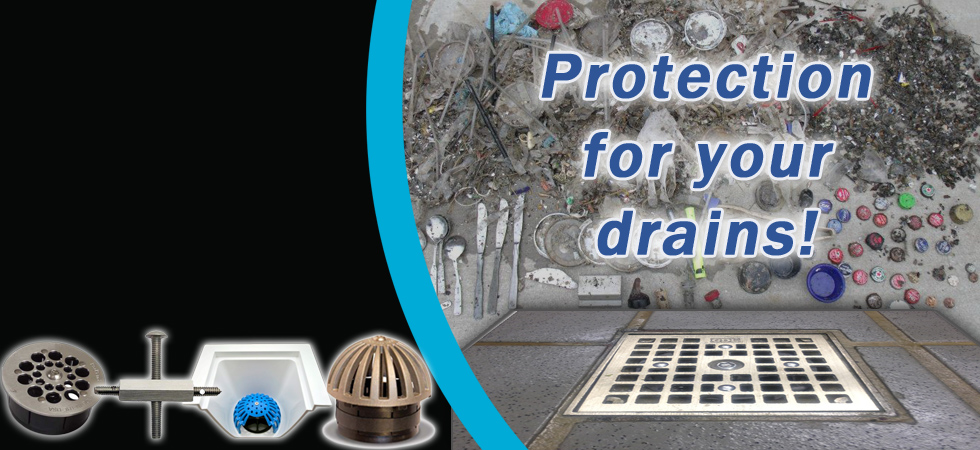 Drain-Netbanner-DraiinLocks Drain-Net Restaurant Plumbing Supplies, Grease Traps and Drain Strainers
