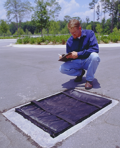 Ultra-Grate Guard helps you comply with Stormwater pollution prevention plans