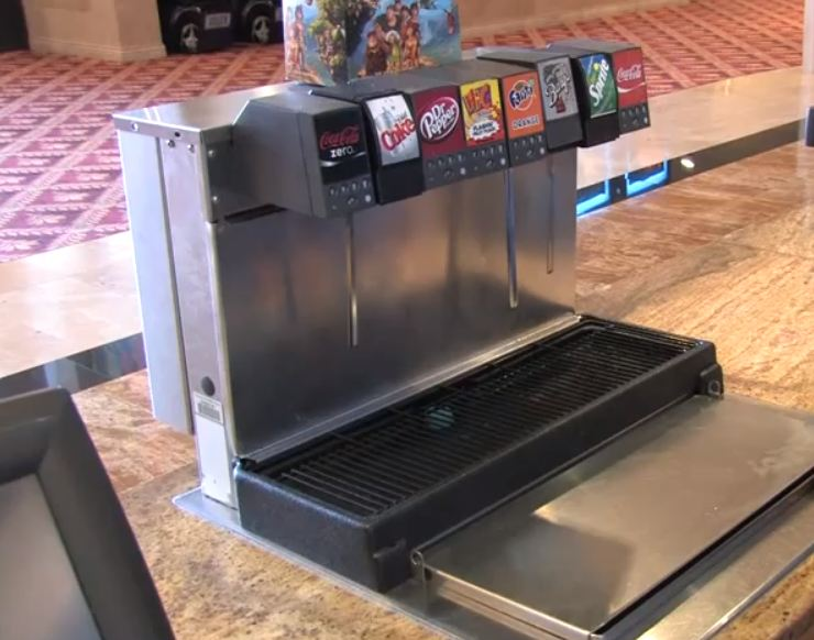 soda fountain tower cleaner and sanitizer
