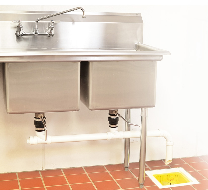 small safety basket - domed - 7 inch | commercial floor sink