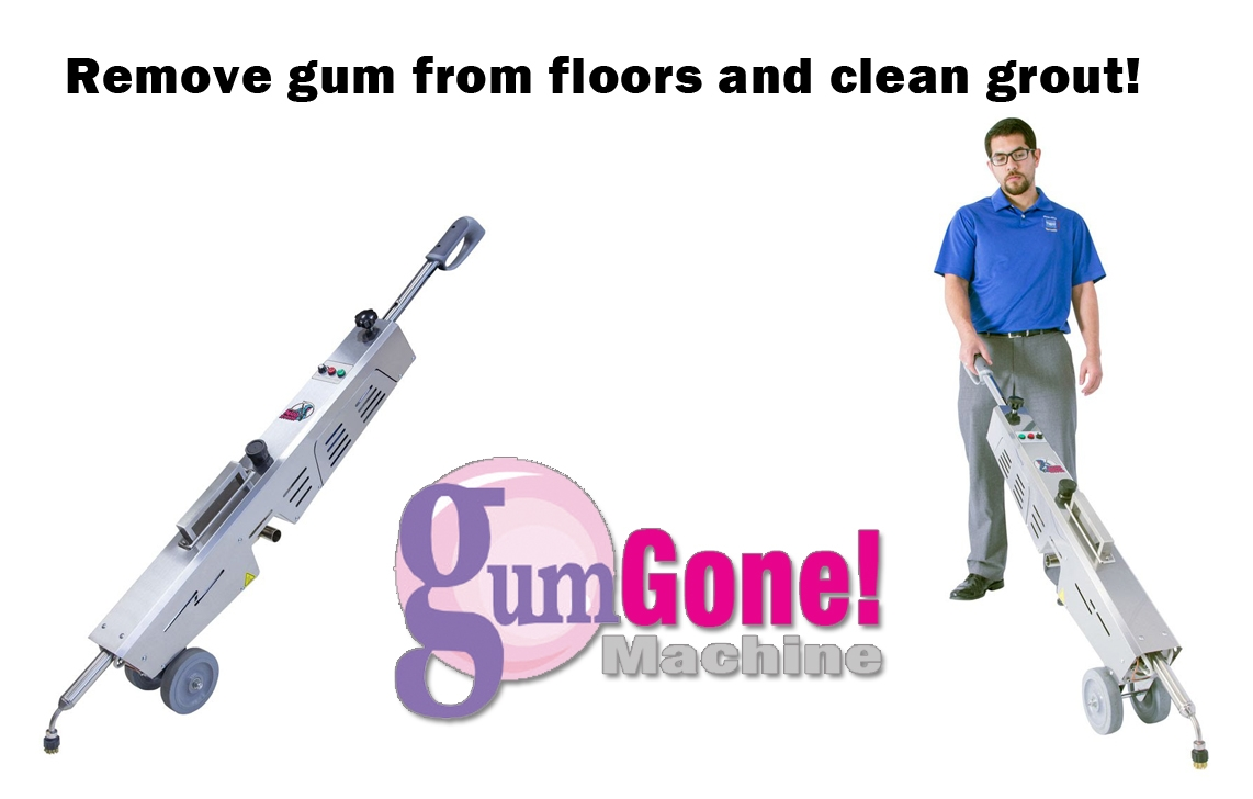 machine to clean grout