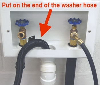 lint trap washing machine hose