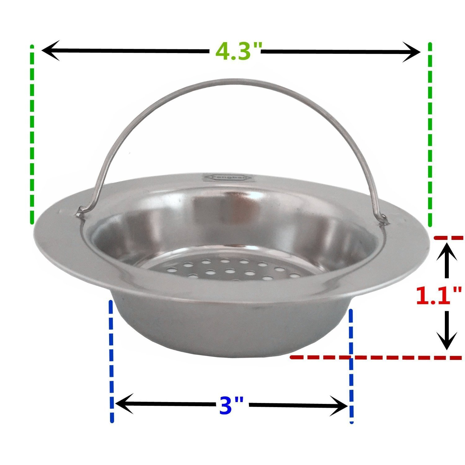 Kitchen Sink Strainer with Handle for your house Stainless Steel