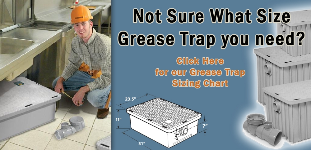 Kitchen Sink Grease Trap Ultra compact plastic grease trap 4 gpm workwithnaturefo
