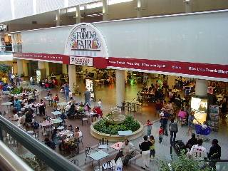food court mall full