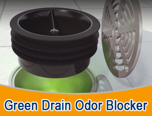 green drain odor blocker