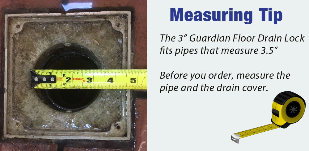 how to measure your drains