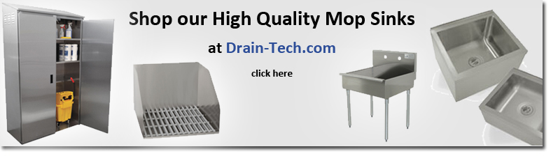 shop mop sink basins