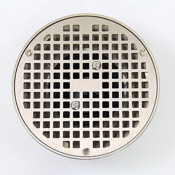 3.5 Cross Strainer Installed with drain Cover