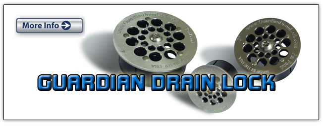 Guardian Drain Lock Hybrid Series for Restaurants and Kitchen floor sinks