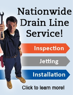 Drain-Net offers Nationwide Drain Line Services