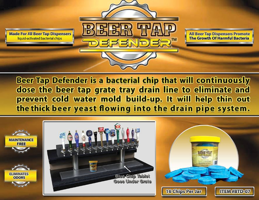 BTD-07 beer tap defender prevent cold water mold