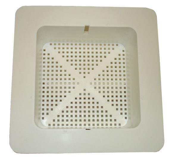 Plastic Floor Sink Basket With Flange 102 1118
