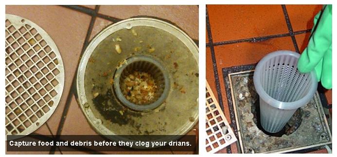 Plastic Floor Drain Strainer To Prevent Drain Clogs