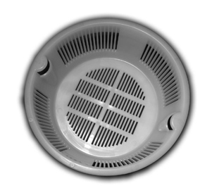round plastic strainer basket for floor sinks 6 5 and 9 5