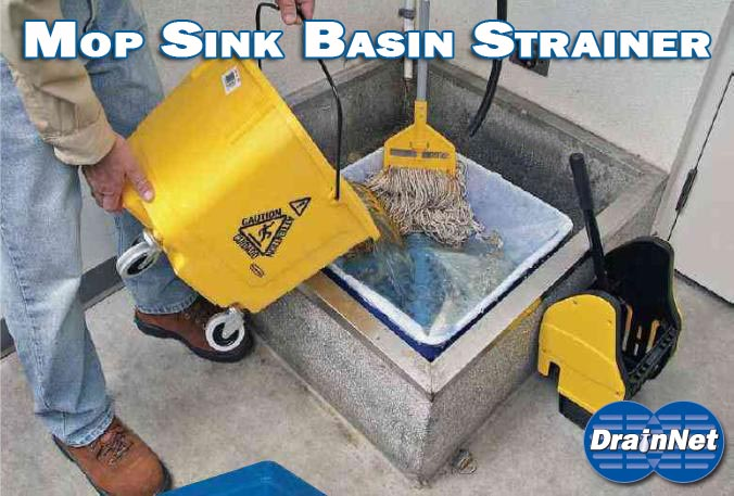 Mop Basin Filtration System - A True Drain Saver