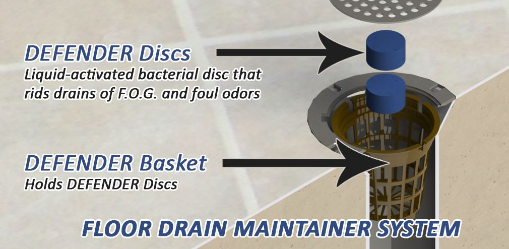 floor drain maintainer system