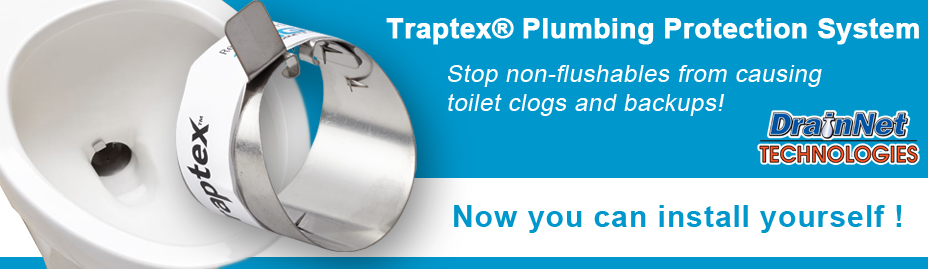 traptex header drain net toilet protection