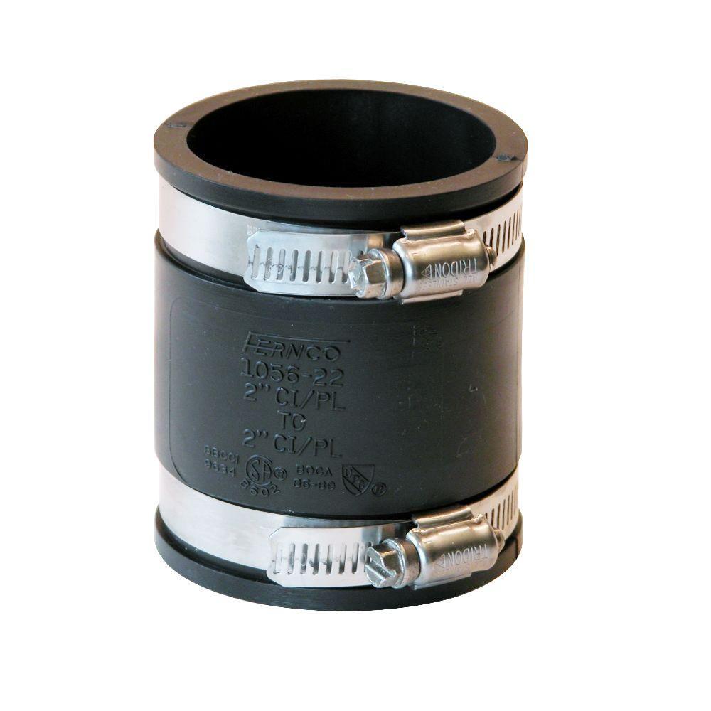 Inch pvc flexible coupling fernco