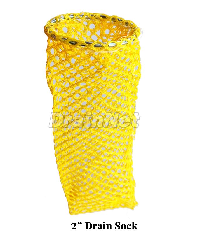 Yellow Drain Sock for 6 Floor Drains for Restaurants and Commercial Facilities
