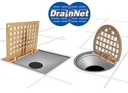 Hinged Floor Drain Grate For Easy Access Drain Cleaning