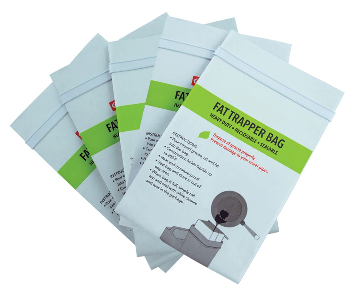 Fat Trapper Grease Disposal Bags -Set of 5