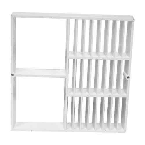 Floor sink replacement grate 12 x 12 inch half grate for 12 inch floor drain cover