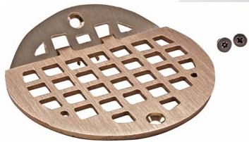 Round Hinged Drain Grate FMP 102-1153 and 102-1152