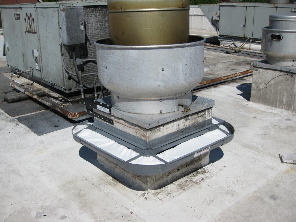 Grease Gutter High Capacity For Rooftop Exhaust Fan