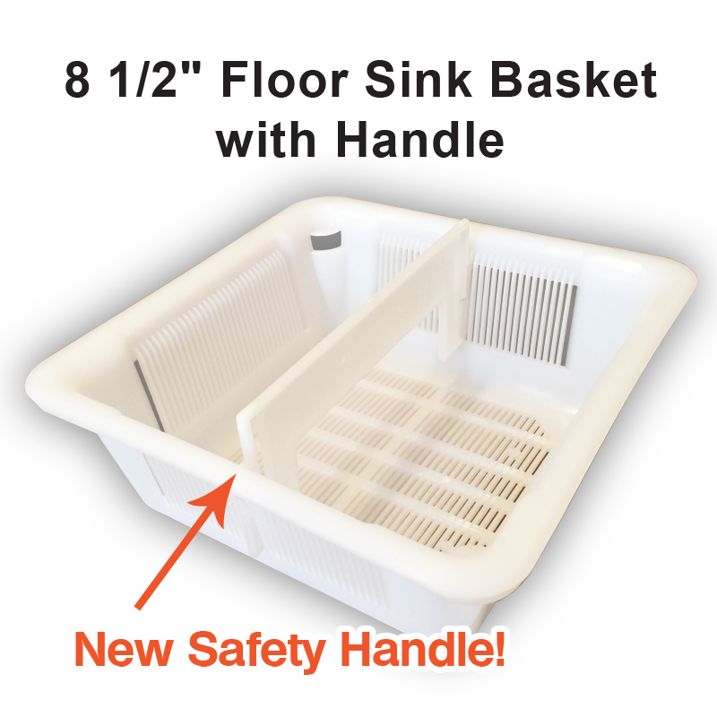 Basket With Safety Handle 8 5 Square