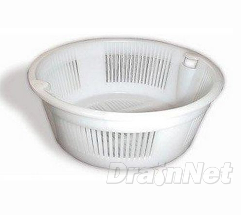 Round Plastic Strainer Basket for Floor Sinks 6.5\