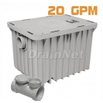 20 GPM Plastic Grease Trap