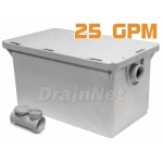 25 GPM Plastic Grease Trap