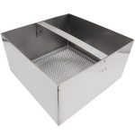 "102-1154 Floor Sink Basket 7 3/4"" stainless steel"