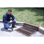 "Ultra-Drain Guard Curb Inlet, Oil & Sediment Model 24"" - 42"""