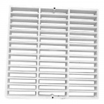 Floor Sink Replacement Grate - 12 x 12 inch - Full Grate
