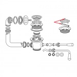 franklin_machine_products_100-1054_-_waste_strainer_lock_diagram