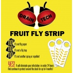Fruit Fly Insecticide Vapor Strip (10-Pack)