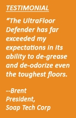 Floor Drain Cleaner Testimonial